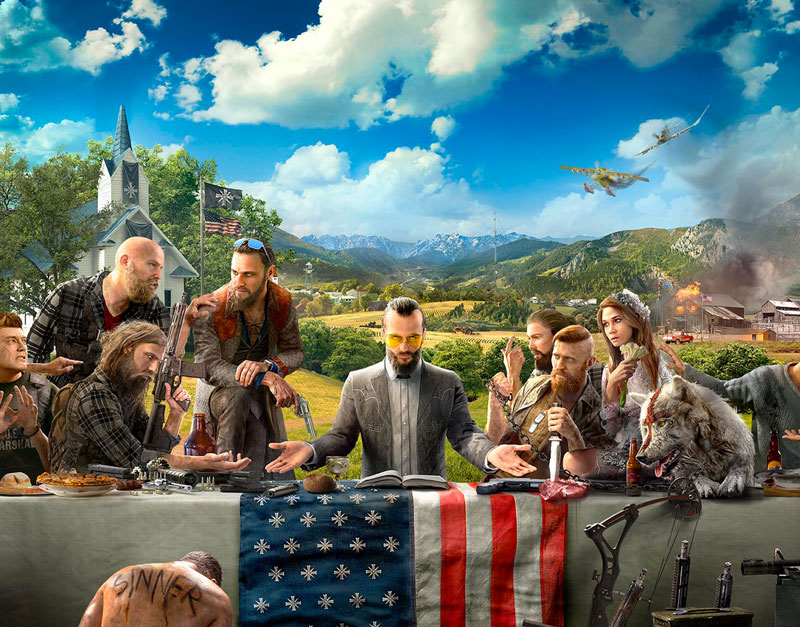 Far Cry 5 - Gold Edition (Xbox One), Game To Relax, gametorelax.com
