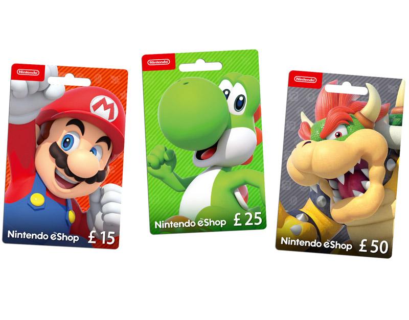 Nintendo eShop Gift Card, Game To Relax, gametorelax.com
