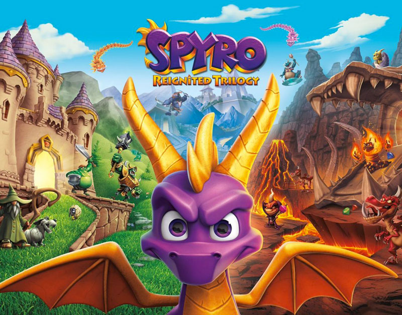 Spyro Reignited Trilogy (Xbox One), Game To Relax, gametorelax.com